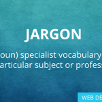 WEB DESIGN JARGON