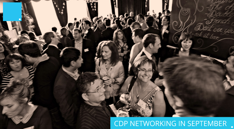 CDP NETWORKING IN SEPTEMBER