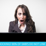 SHOCKING? 80% OF SMB'S DO NOT LINK THEIR SOCIAL!