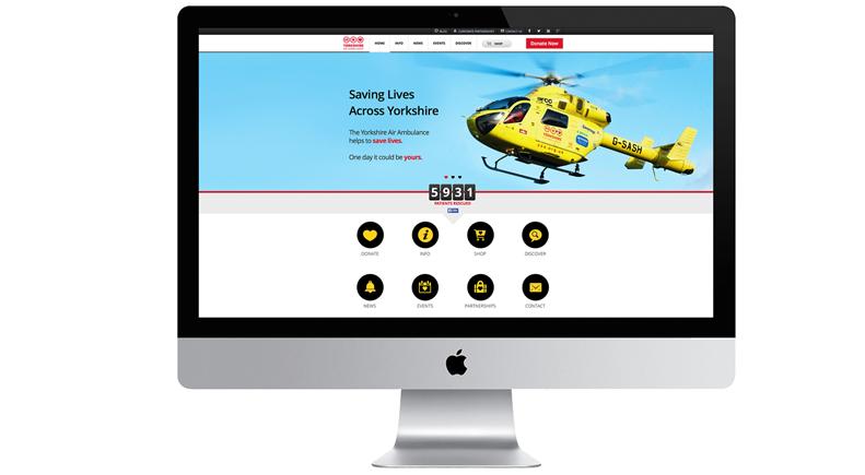 Yorkshire Air Ambulance Website